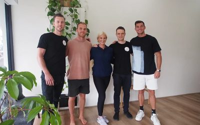 Tom Mitchell and Jaegar O'Meara at Atlas Chiro for Chiropractic Care and Remedial Massage Therapy